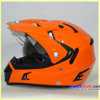 harga Helm Snail Mx311 Supermoto Orange Tokopedia.com