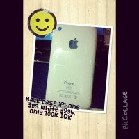 Back case iPhone 3gs 32gb white