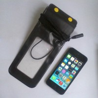 Case waterproof dengan headset jack Underwater Pouch For iPhone 5 4S 4