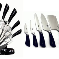 Oxone Butterfly Knife Set (OX-981) (Pisau Master Chef)