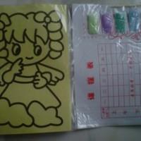 Mainan Mewarnai dengan Pasir Warna