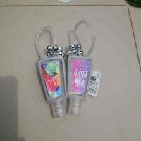 BBW Pocketbac Charm Holder - Silver Jingle Bells