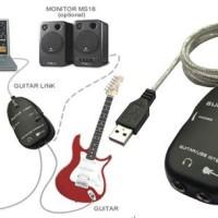 Jual Soundcard USB Recording Guitar Link + Seabrek Gratisannya! Murah