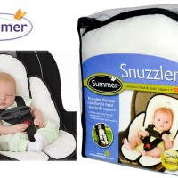 Summer Infant Velboa Snuzzler Head & Body Support Alas Stroler & Car seat