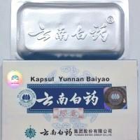 Yunnan Baiyao Kapsul obat menghentikan pendarahan luka bengkak memar wasir herbal alami ramuan cina