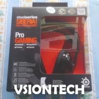 SteelSeries Siberia V2 Black Edition - Full Size Gaming Headset