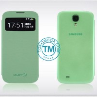 Flip Cover for Samsung GALAXY S4 I9500 S View Cover/Case/Sarung