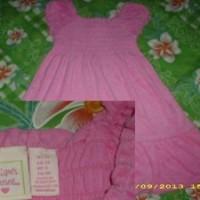 dress handuk pink merek Jillian's Closet sz.3T