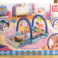 BABY PLAYMAT BABY GIFT AQUARIUM / MATRAS BERMAIN BAYI
