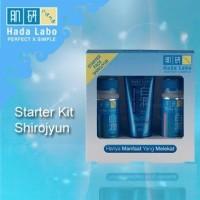 Hada Labo Shirojyun Starter Pack