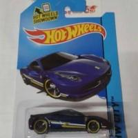 Hot Wheels Ferrari 458 Italia (blue)