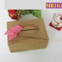 Kotak Karton Kraft Coklat Ukuran 10 x 7 x 5cm - MB167