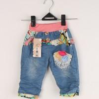 Celana Jeans Panjang Bunga