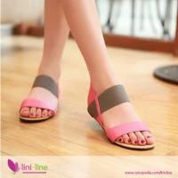 Sandal Flat Wanita N7867 Poppy (Sepatu / Sandal Cewek)