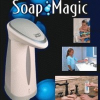 Tempat SABUN Sensor OTOMATIS / SOAP MAGIC DISPENSER / Sensor Infrared