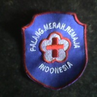 Bordir Logo Palang Merah Remaja (PMR) Sekolah
