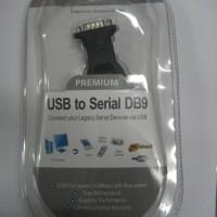 KABEL USB TO RS232 SERIAL DB9 BAFO PREMIUM + KONVERTER FEMALE