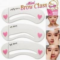 Cetakan Alis MINI BROW CLASS