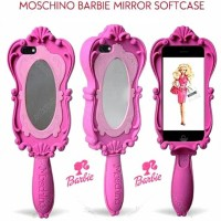 MOSCHINO BARBIE MIRROR SOFTCASE