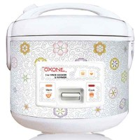 OX-818 3in1 Rice Cooker Peony 1.8Lt - 250Watt Oxone NEW