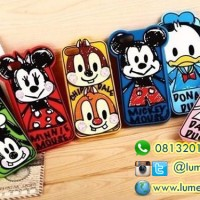 Casing Rubber Soft Case Disney Hand Drawing for iPhone 5/5s