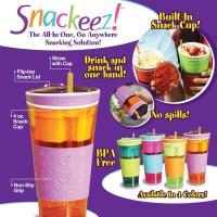 Snackeez As seen TV - Tempat minum dan snack jadi