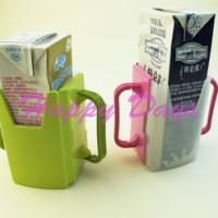 tempat minum susu kotak uht buavita anak belajar jus milk foldable cup