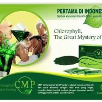 CMP (Chlorophyll Mint Powder) adalah minuman klorofil dari daun Mulber