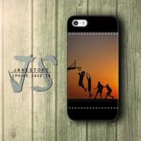 Basketball Slamdunk iPhone Case Nike Logo,Casing Type 4 4s 5 5s 5c hp