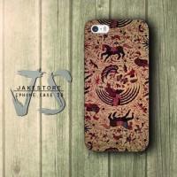 Batik Tulis Indonesia iPhone Case Kain ,Casing Type 4 4s 5 5s 5c hp
