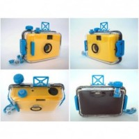 LOMO Waterproof Camera (Film Type 35mm) - Yellow