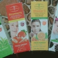 Perontok Daki Aichun whitening face & body peeling gel