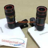 Jual Tele Zoom 8x Universal Clip Lensa Jepit for Smartphone Tablet cs tongs Murah