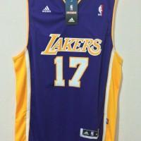 NBA Jersey LA Lakers Jeremy Lin #17 Swingman Revo30