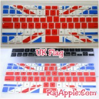 """Silicone Keyboard Protector / Cover UK FLAG for Macbook 13"""" & 15"""""""