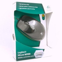 Logitech M100r Optical Mouse USB