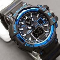 G-Shock GWA-1100 Kw Super Hitam list Biru