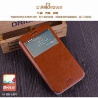 Lenovo A850 MOFI Leather Flip Case Flipcase Cover Flipcover