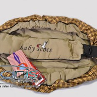 Gedongan Baby Scots Samping Berry Sling Rider ISBC02