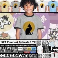 Oceanseven Kids Collection - SFA Funniest Animals 9 TX
