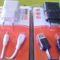 Charger Carger Cross Evercoss Original/bisa utk Samsung/Blackberry