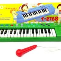 Mainan musik 5 (TECHNO KARAOKE KEYBOARD)