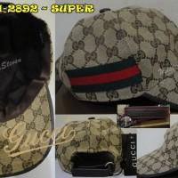 TOPI / HAT co/ce GCH-2892 kw SUPER Quality, Golden Cream Gucci Import