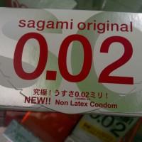Kondom Sagami Original 0.02mm