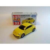 Tomica Reg 33 Volkswagen The Beetle (yellow)