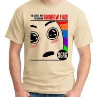 KAOS RAINBOW FACE - 9GAG ORDINAL APPAREL