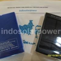 Termurah dan bergaransi !! Solar power bank tenaga surya 10,000 mAh dengan 2 output (1A & 2A) bisa charge 2 gadgets sekaligus