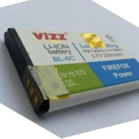 VIZZ BATERAI / BATTERY DOUBLE POWER NOKIA BL-6C ( BL6C ) 2250 mAh