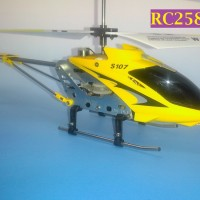 RC258 - Syma S107g 3.5 Ch Mini Indoor Co-Axial Metal RC Helicopter
