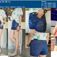 Hotpants Denim/ Jeans Import, Blue, Bangkok, Korea Style Murah